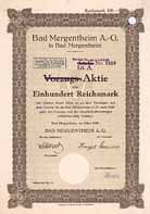 Bad Mergentheim AG