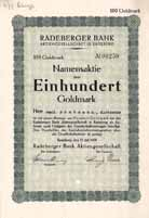 Radeberger Bank AG