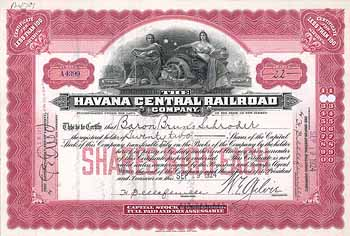 Havana Central Railroad (OU Baron Bruno Schroder)