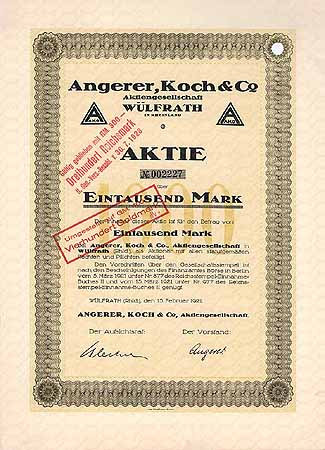 Angerer, Koch & Co. AG