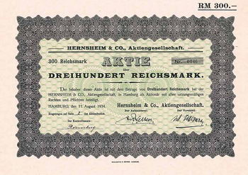 Hernsheim & Co. AG