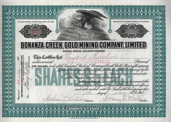Bonanza Creek Gold Mining Co.