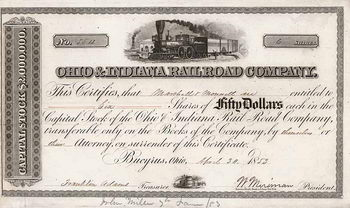Ohio & Indiana Railroad