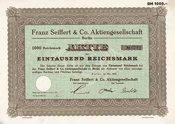Franz Seiffert & Co. AG