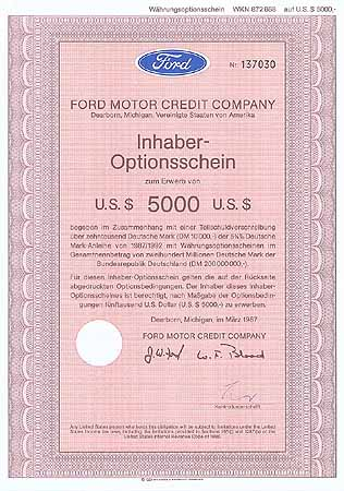 Ford Motor Credit Co.