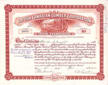 British Canadian Lumber Corp. Ltd.
