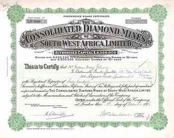 Consolidated Diamond Mines of South-West Africa Ltd.
