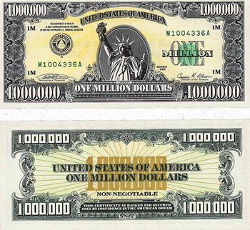 One-Million-$-Note