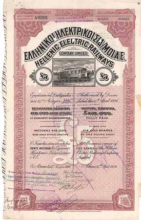 Hellenic Electric Railways Co.