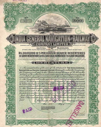 India General Navigation and Railway Co.
