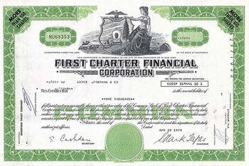 First Charter Financial Co.