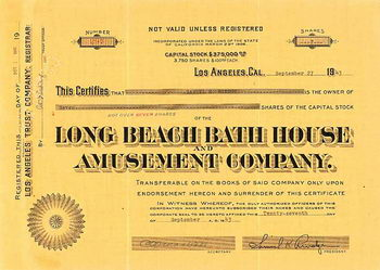 Long Beach Bath House and Amusement Co.