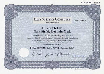 Beta Systems Computer AG