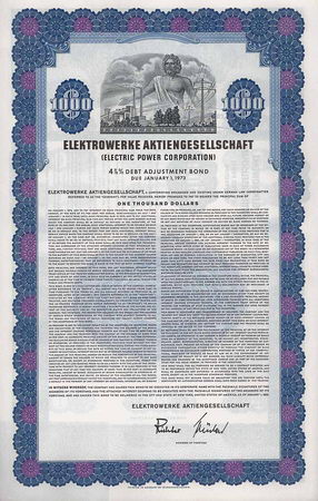Elektrowerke AG (Electric Power Corp.)
