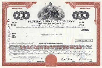 Fruehauf Finance Co.