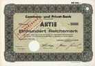 Commerz- und Privat-Bank AG