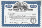 West Canadian Oil & Gas Ltd.